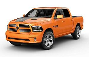 2017 RAM 1500 Ignition Orange Sport Crew Cab