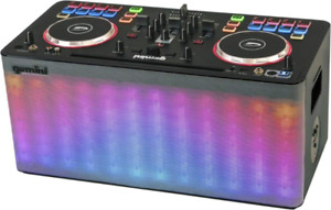 GEMINI MIX2GO PRO DJ Sound System & Controller ALL-IN-ONE