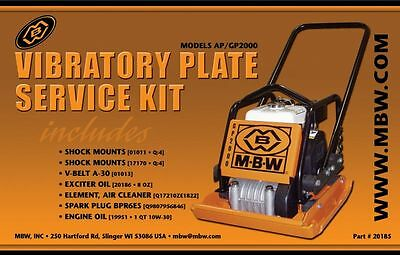Mbw Plate Compactor Gpap 2000 Service Kit Whonda Engine