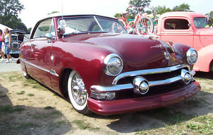 Ford 1951 Victoria coupe
