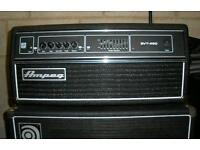 Ampeg bass amp rig. SVT450 head and 410 hlf cab