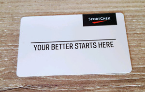 $100 SportChek gift card for $80