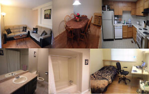 Fully furnished bedroom available now great location!