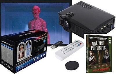 Halloween PROFX PROJECTOR KIT + ATMOSFEARFX UNLIVING PORTRAITS  DVD Haunted - Halloween Dvd Projector