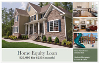 Home Owner?  Get approved up to $20,000 today!