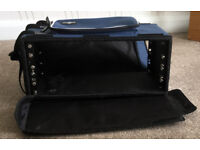 Gear for Music 4 Unit shallow rack bag in really good condition.