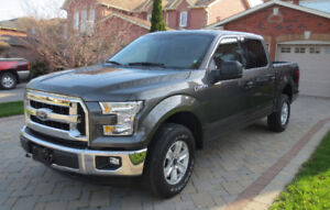 2016 Ford F-150 XLT 4x4 Crew Cab 5.0 V8 - 7500 km - Like New!