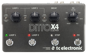 DITTO X4 LOOPER, pour guitare ou synth
