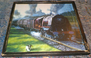 5 different Classic Railway theme pictures - ready to display