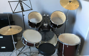 Great set of drums to start out on!