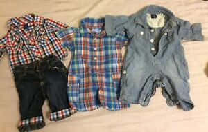 Baby Boy outfits 0-3 months  Peterborough Peterborough Area image 1