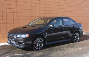 2015 Mitsubishi Lancer Evolution X MR Premium S-AWC *Low KM Navi