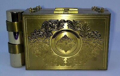 Vintage 1950's Zell Fifth Avenue Carry All Compact Purse UN-USED