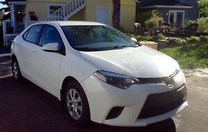 J'offre 1000$ cash pour transfert de bail ! Toyota Corolla 2015