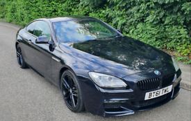 BMW 640 d M SPORT 2012