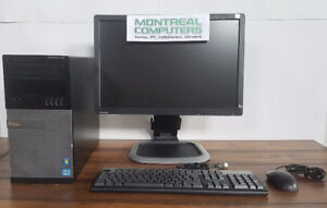 "Dell i7 2nd gen TOWER with 22"" Monitor Keyboard & mouse"