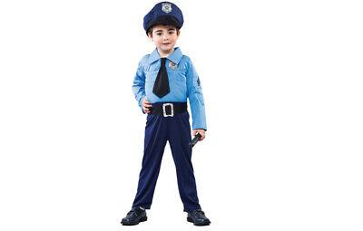 Polizeikostüm Polizist Polizei Kostüm für Kinder 2-3 Jahre Gr. 104 (Polizei Kostüm Für Kinder)