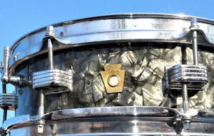 Vintage Ludwig 1967 Downbeat Tour Kit