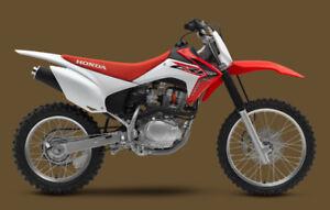 Looking for Honda dirt bike
