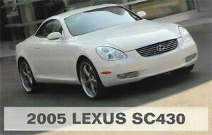 2005 Lexus SC430 - great condition!