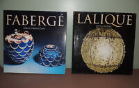 LILIQUE AND FABREGE BOOKS