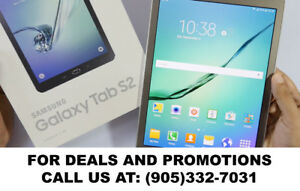 Samsung Galaxy TAB S 10' - TAB S 8' on amazing SALE!!