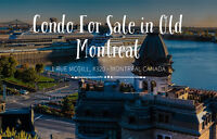 Condo In Old Montreal For Sale