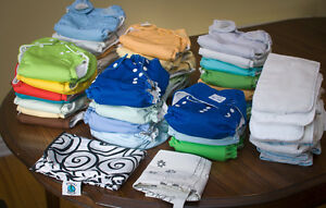 34 Cloth Diapers, One-Size