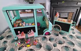 My generation: ice cream van & hot dog cart