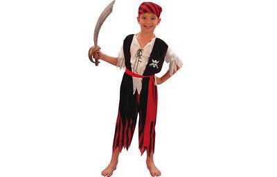 Piratenkostüm Deluxe Piraten Kostüm Jungen - Deluxe Pirat Kind Kostüm