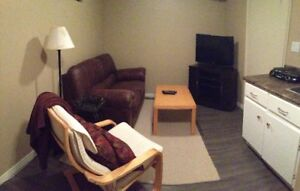 One Bedroom Basement in Quiet Area