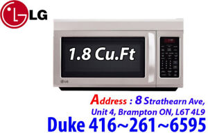 Stainless-Steel 1.8 Cu.Ft Over-the-Range Microwave LMV1813ST