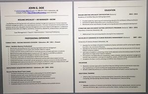 Professional Resume Writing Service. Get an Interview! Edmonton Edmonton Area image 1