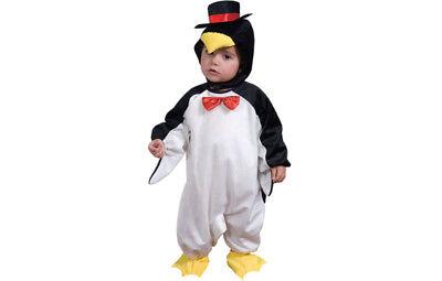 Pinguinkostüm Pinguin Polar Kostüm für Kinder 0-1 Jahr Gr. 92 T1