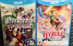 Wii U Hyrule Warriors & Avengers