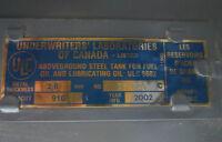 Réservoir à mazout de 910L