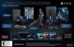 Final Fantasy XV Ultimate Collector's Edition for Playstation 4.