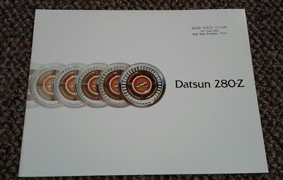 1976 Datsun 280Z Prestige Brochure Near mint unused dealer copy JDM 240 260 IMSA