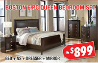 Boston Contemporary Queen Bedroom Set, $899