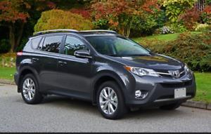 2015 Toyota RAV4 limited SUV, Crossover