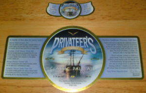 Maritime Brewing Co.beer labels- Halifax -5 diff labels
