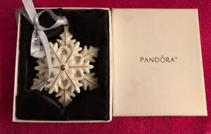 Pandora snowflake ornament