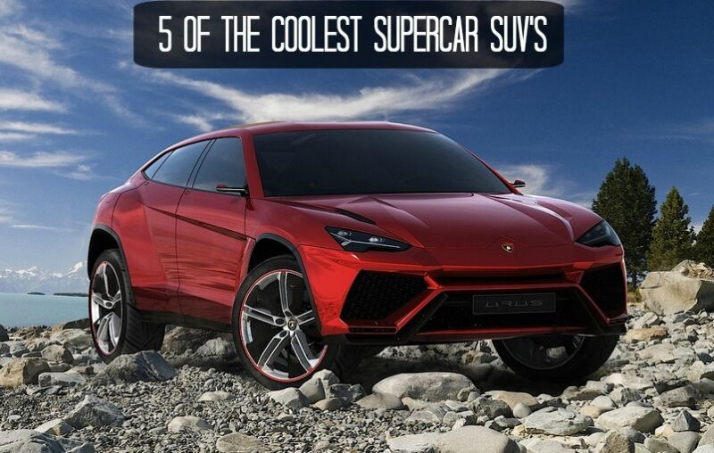 Of The Coolest Supercar Suv S Ebay
