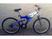 "Bike/Bicycle. GENTS MAGNA "" ARCTIC TRAIL "" MOUNTAIN BIKE"