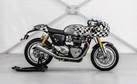 "Triumph Thruxton R ""The Race Face"""
