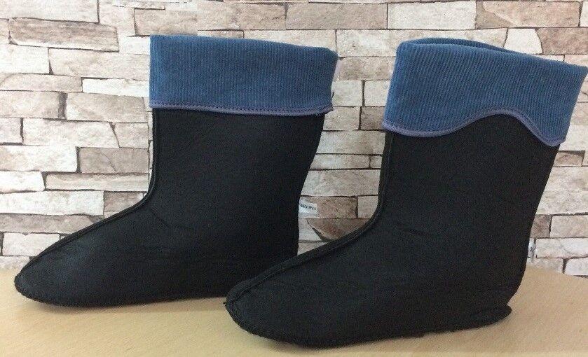 KIDS FLEECE SOCK LINING for WELLINGTON BOOTS Welly boot warmers socks +GRATIS