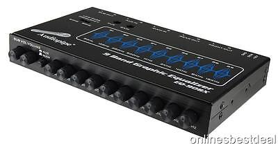 Audio Pipe EQ-908X 9 Band Graphic EqualizerEQ-908X