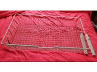 Ikea Komplement wire basket for Pax wardrobe