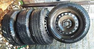 4 x Goodyear Optilife 19565R15 91V Tyres plus VW golf rims Blackburn Whitehorse Area Preview