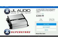 JL audio car amplifier